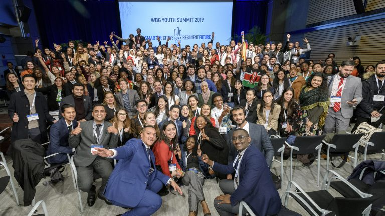 World Bank Youth Summit Group Photo