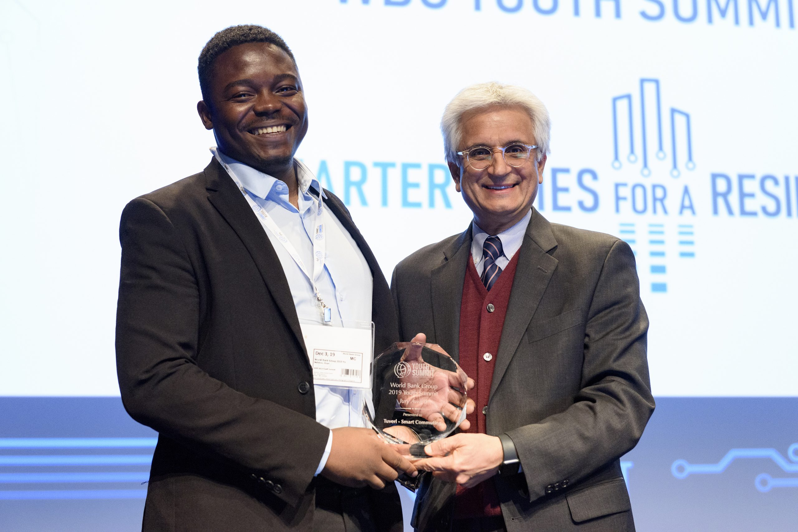 Hope Ndhlovu wins World Bank Youth Summit Pitch Competition