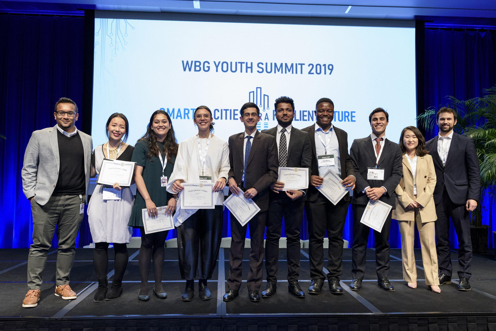 World Bank Youth Summit Award Ceremony Competitors