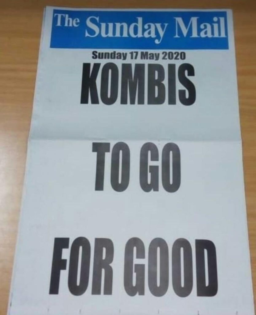 Kombis to go for good